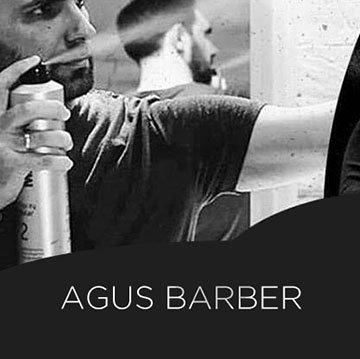 Agus Barber en plena acción