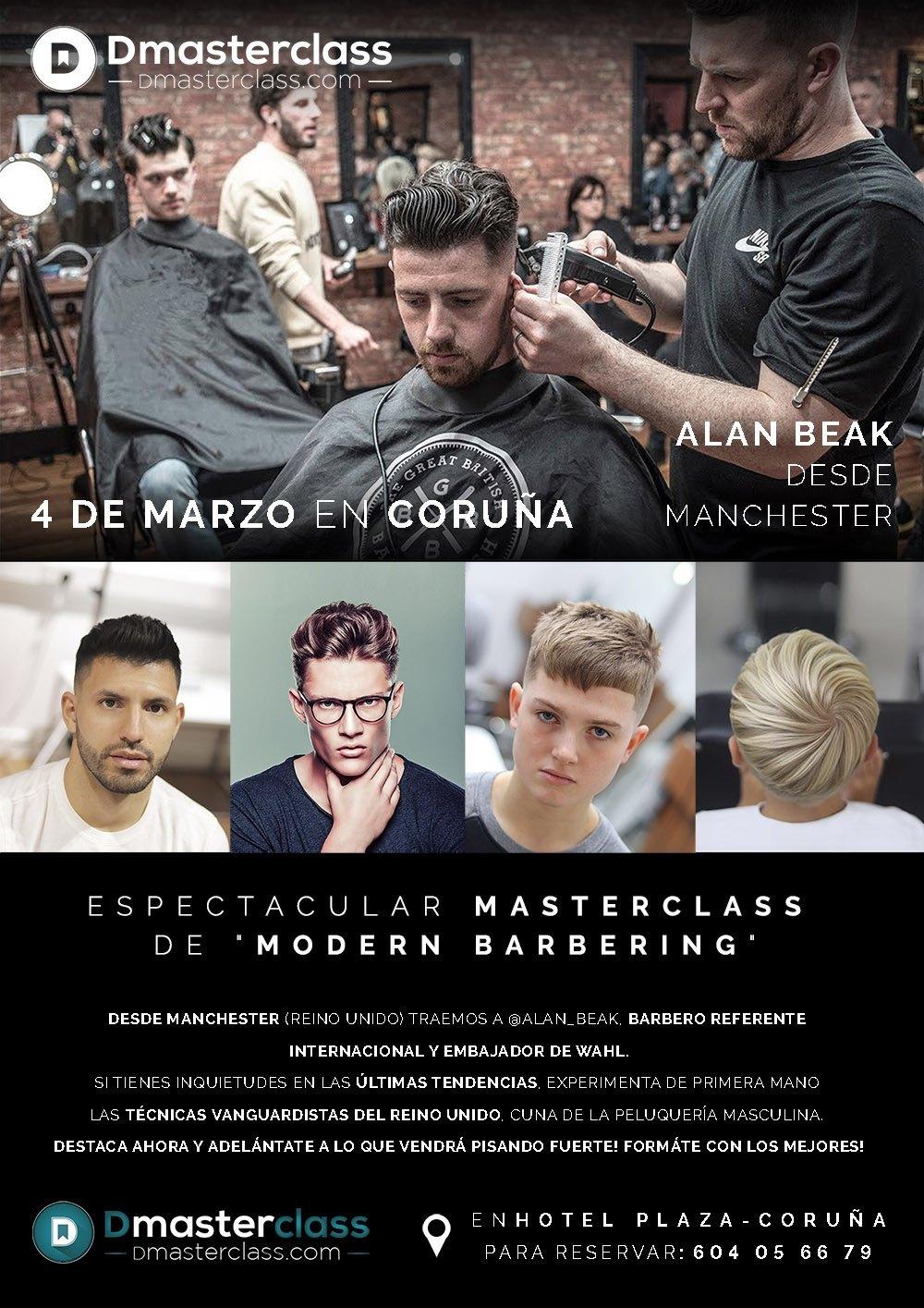 Masterclass Barbería a Coruña